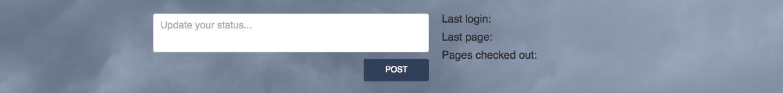 Image of the status option on the Ingeniux 10 dashboard.